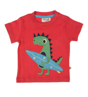 Baby Dino Appliqué T-Shirt