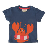 Baby Lobster Appliqué T-Shirt