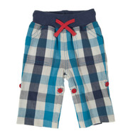 Baby Check Roll Up Trousers