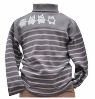 The Rollneck with Stripes