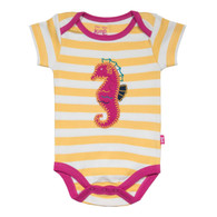 Stripy Seahorse Bodysuit