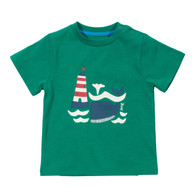 Lighthouse & Whale T-shirt