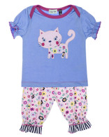 Betty Cat Short Set