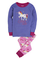 ENCHANTED DREAMS Pajama Set, Purple