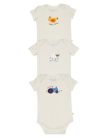 Special 3-Pack Natural Onesies