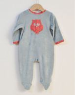 All-in-One Red Owl Sleepsuit