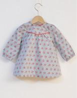 *40% Off!* Blue Mist Stella Baby Dress