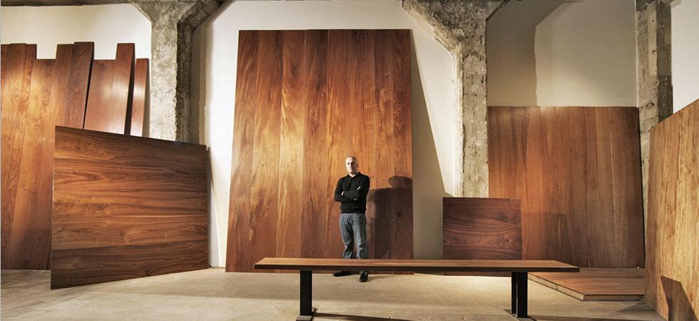 JT Studio Mahogany Wide Plank Floor