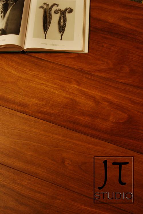 Brazilian Teak Wide Plank Flooring