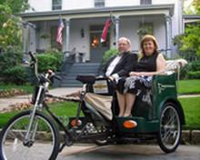 1 Hour Anniversary Rickshaw Ride