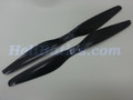 Pair 16x5.5 T-motor style Carbon fiber CW/CCW prop for RC Multi-Copter #7