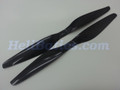 Pair 17x5.5 T-motor style Carbon fiber CW/CCW prop for RC Multi-Copter #8