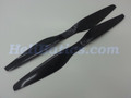 Pair 18x5.5 T-motor style Carbon fiber CW/CCW prop for RC Multi-Copter #9