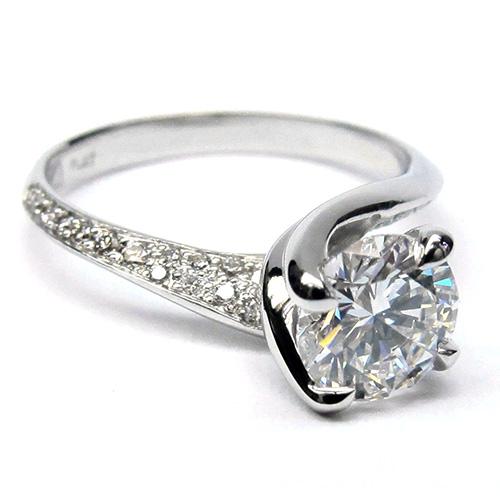 Custom Made Velvet Engagement Ring at Artners Gallery