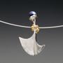 Art Jewelry, Flirting Pendant - Black Pearl by Aleksandra Vali