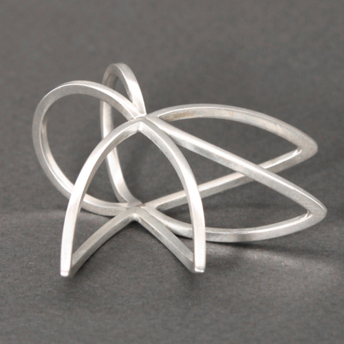 Savila Ring, Contemporary Jewelry by Cheryl Eve Acosta