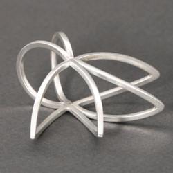Savila Ring, Contemporary Jewelry by Cheryl Eve Acosta