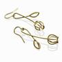 Gold Budding Earrings, Modern Art Jewelry by Liaung-Chung Yen