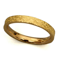 Textured Band Ring 3.0, Modern Art Jewelry by Liaung-Chung Yen