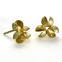 Flourishing Cluster Earrings, Modern Art Jewelry by Liaung-Chung Yen