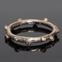 Twig Ring, White Gold, Modern Art Jewelry by Liaung-Chung Yen