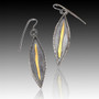 Jacquie Earrings, Handmade Art Jewelry by Lori Gottlieb
