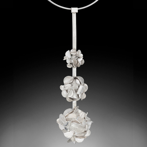 Desert Rose Necklace v3, Art Jewelry by Lori Gottlieb