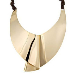 Moby Dick Necklace, Modern Art Jewelry by Mia Hebib