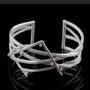 Random Order Large Cuff, Contemporary Jewelry by Maressa Tosto Merwarth