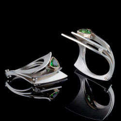 Revelation Ring, Contemporary Jewelry by Maressa Tosto Merwarth