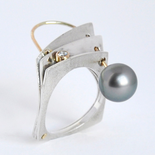 Come Around Ring, Contemporary Jewelry by Maressa Tosto Merwarth
