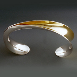 Half Open Cuff by Nancy Linkin, Modern Jewelry