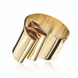 Tagliatelle Ring, Modern Art Jewelry by Mia Hebib