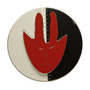 Mask/Face Brooch, Contemporary 3D Brooch by David LaPlantz