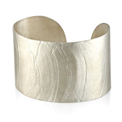 Wafer Cuff; Handmade Modern Jewelry by Ayesha Mayadas
