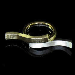 Interference stackable rings, Contemporary Jewelry by Maressa Tosto Merwarth