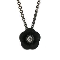 Cherry Blossom Pendant, Modern Jewelry by Catherine Iskiw