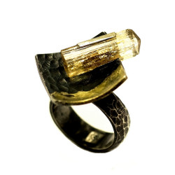 Tresor Ring, Handmade Art Jewelry by Deborah Vivas