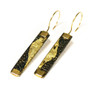 Continuance Earrings, Handmade Art Jewelry by Deborah Vivas