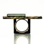 Structure Ring, Handmade Art Jewelry by Deborah Vivas