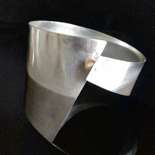 Collar Cuff Bracelet, Contemporary Jewelry by Maressa Tosto Merwarth