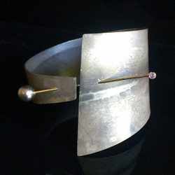 Contemporary Collar Cuff Bracelet v2 | Maressa Tosto Merwarth