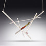 Random Order Necklace, Contemporary Jewelry by Maressa Tosto Merwarth