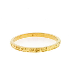 Anit Dodhia's Equinox Ring | 18k Yellow Gold | Maya Collection