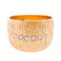 Anit Dodhia's Flare Ring | 18 Karat Rose Gold and 0.16 Carat White Diamonds | Maya Collection