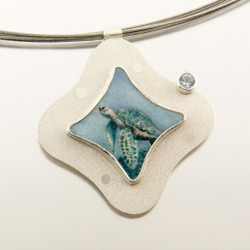 Carol Salisbury's Sea Turtle Pendant | Endangered Species