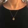 Moonstone Pebble Pendant by Keiko Mita | Moonstone, Gold | Handmade Fine Jewelry