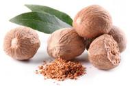 Nutmeg, Myristica fragrans