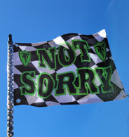 FLESHGEAR SIGNITURE SERIES NOT SORRY FLAG - GREEN
