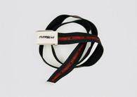 Ride belt red